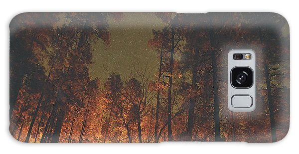 Warmth Of Trees And Stars Galaxy Case