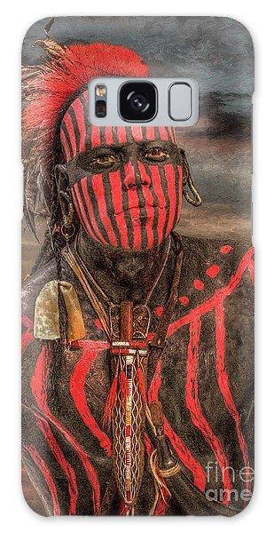 Warpath Shawnee Indian Galaxy Case by Randy Steele