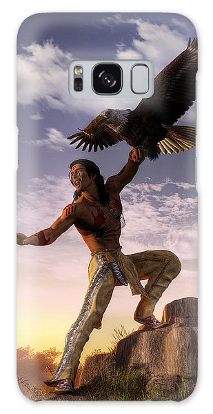 Warrior And Eagle Galaxy Case