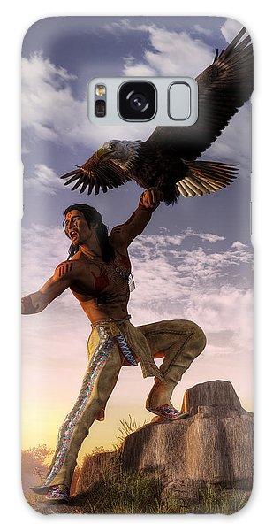 Warrior And Eagle Galaxy Case