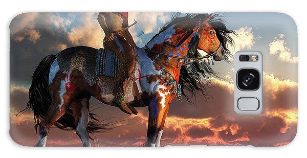 Warrior And War Horse Galaxy Case by Daniel Eskridge