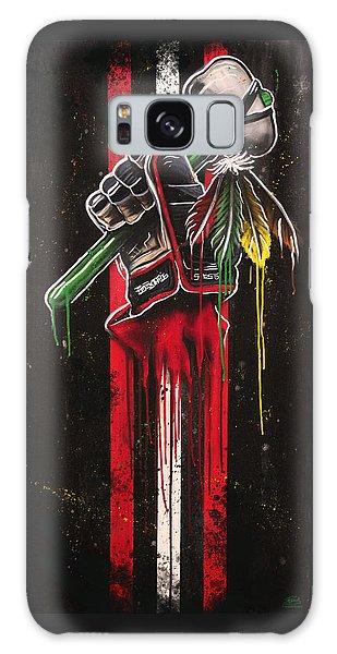 Warrior Glove On Black Galaxy S8 Case