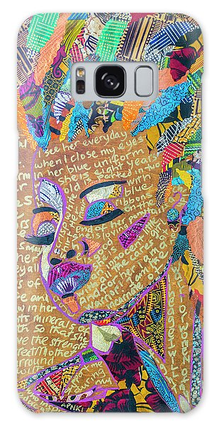 Warrior Woman Galaxy Case by Apanaki Temitayo M