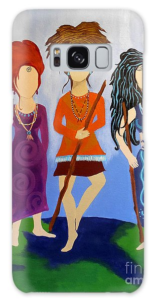 Warrior Woman Sisterhood Galaxy Case
