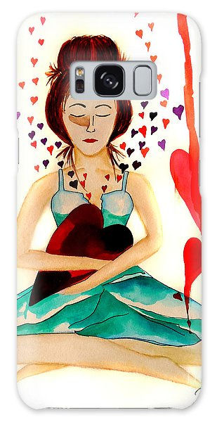 Warrior Woman - Tend To Your Heart Galaxy Case