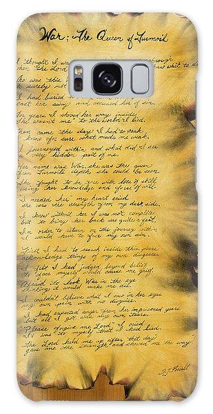 War's Poem Galaxy Case