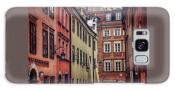 Warsaw Old Town Charm Galaxy Case by Carol Japp
