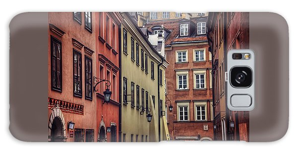 Warsaw Old Town Charm Galaxy Case