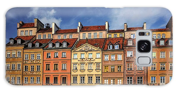 Warsaw Old Town Market Square  Galaxy Case