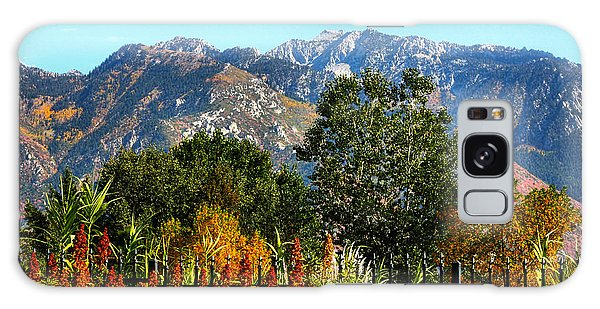 Wasatch Mountains In Autumn Galaxy Case by Tracie Kaska