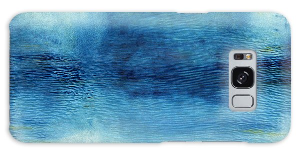 Wash Away- Abstract Art By Linda Woods Galaxy Case