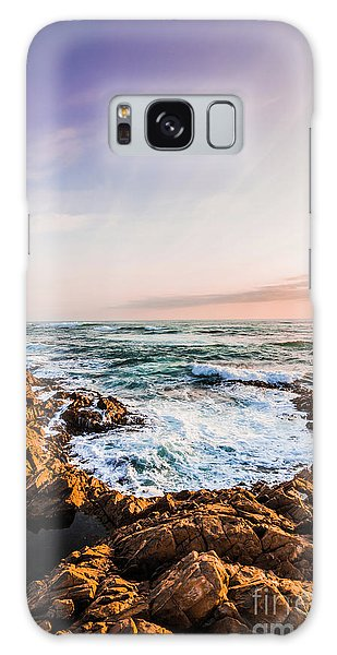 West Bay Galaxy Case - Wash Of Pastel Seas by Jorgo Photography - Wall Art Gallery