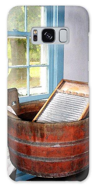 Washboard Galaxy Case by Susan Savad