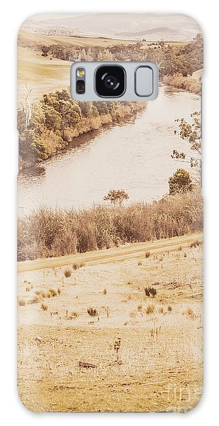 No People Galaxy Case - Washes Of Rustic Country by Jorgo Photography - Wall Art Gallery