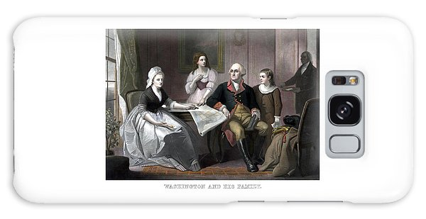 Washington And His Family Galaxy Case