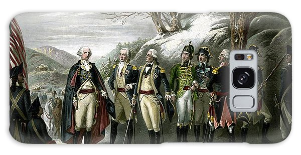 Washington And His Generals  Galaxy Case