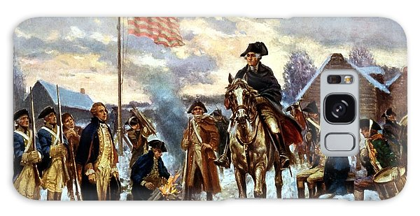 Patriotic Galaxy Case - Washington At Valley Forge by War Is Hell Store