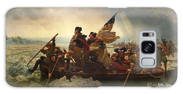 Washington Crossing The Delaware Galaxy Case by John Stephens