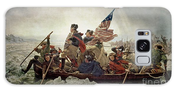 Washington Crossing The Delaware River Galaxy Case