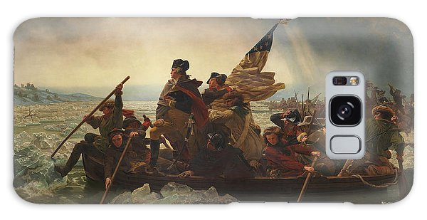 Hero Galaxy Case - Washington Crossing The Delaware by War Is Hell Store