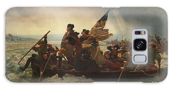 George Washington Galaxy Case - Washington Crossing The Delaware by War Is Hell Store