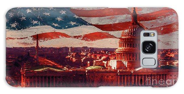Washington Dc Building 76h Galaxy Case by Gull G