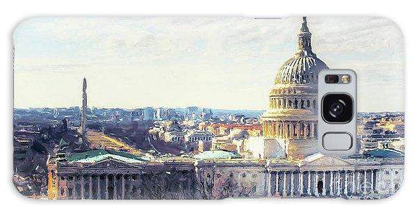 Washington Dc Building 9i8 Galaxy Case by Gull G