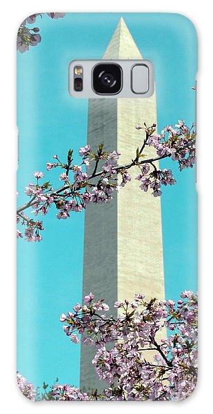 Washington D.c. In Springtime 2 Galaxy Case by J Jaiam