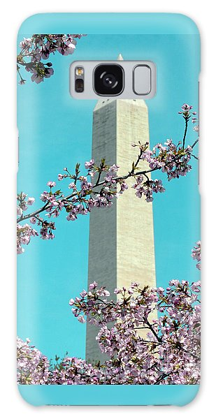 Washington D.c. In Springtime 2 Galaxy Case by J Jaiam