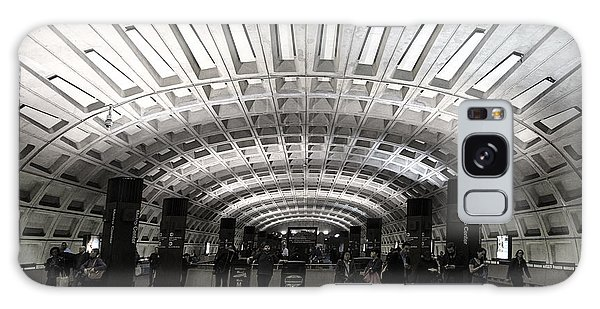Washington Dc Metro Metro Center Stop Galaxy Case