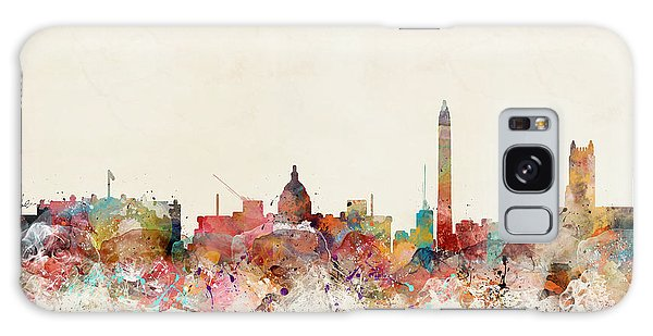 Washington Dc Skyline Galaxy Case
