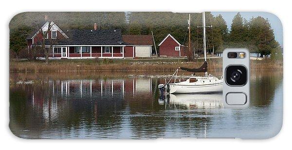 Washington Island Harbor 4 Galaxy Case
