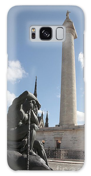 Washington Monument In Baltimore Galaxy Case
