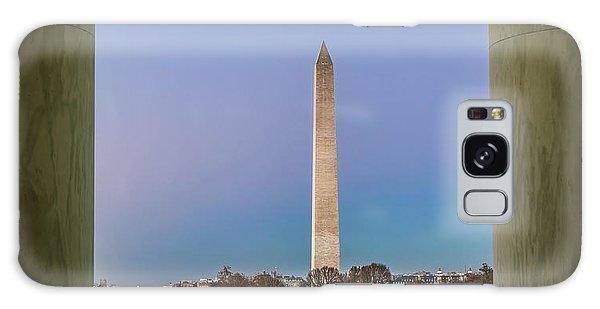 National Monument Galaxy Case - Washington Monument  by Larry Marshall