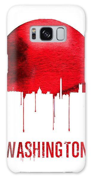 Washington D.c Galaxy Case - Washington Skyline Red by Naxart Studio