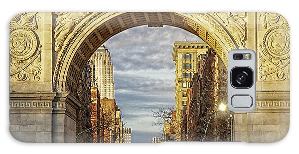 Washington Square Golden Arch Galaxy Case