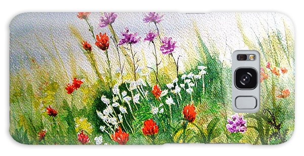 Washington Wildflowers Galaxy Case