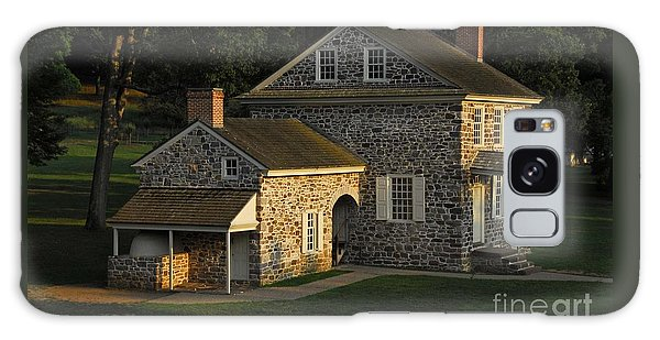 Washington's Headquarters At Valley Forge Galaxy Case by Cindy Manero