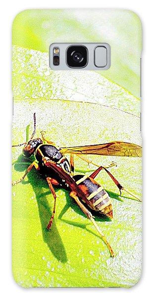 Wasp  Galaxy Case by Karen McKenzie McAdoo