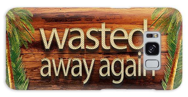 Wasted Away Again Jimmy Buffett Galaxy Case
