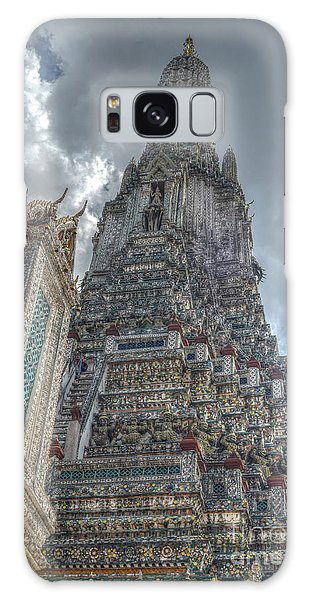 Wat Arun Galaxy Case by Michelle Meenawong