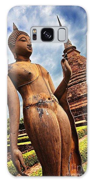 Wat Sra Sri In Sukhothai Thailand Southeast Asia Galaxy Case