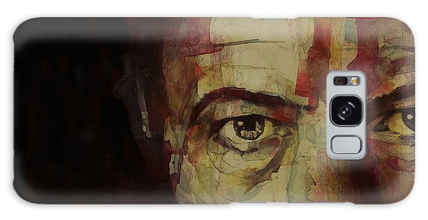 Musicians Galaxy Case - Watch That Man Bowie by Paul Lovering