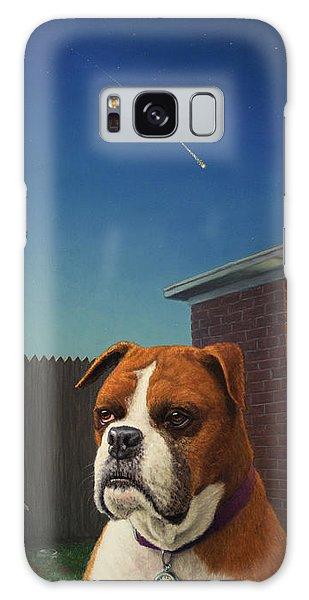 Clock Galaxy Case - Watchdog by James W Johnson