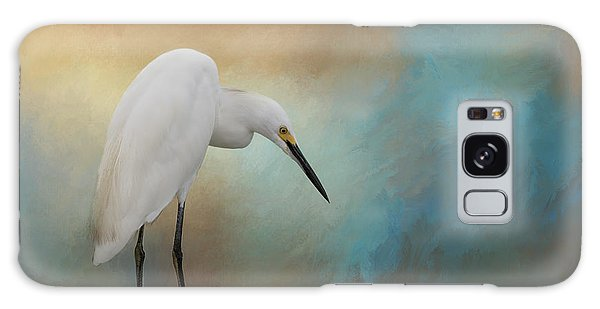 Egret Galaxy Case - Watching by Kim Hojnacki