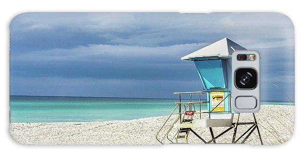 Lifeguard Tower Florida Gulf Coast Galaxy Case