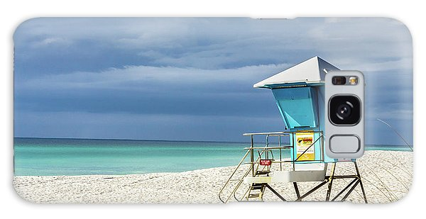 Lifeguard Tower Florida Gulf Coast Galaxy Case