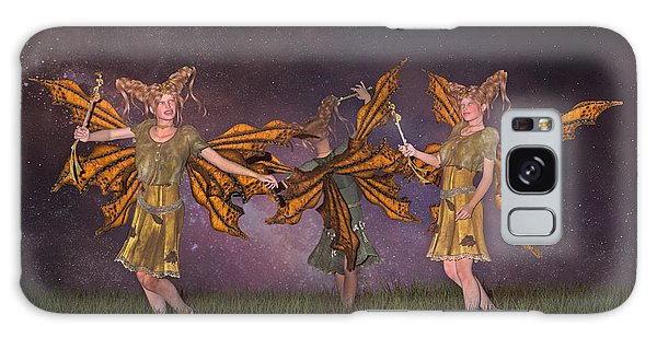 Elf Galaxy Case - Watching Over You by Betsy Knapp