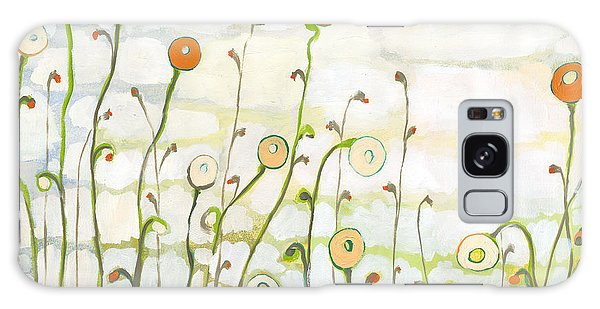 Green Galaxy Case - Watching The Clouds Go By No 2 by Jennifer Lommers