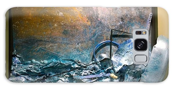 Galaxy Case featuring the mixed media Water Abstract #31017 by Robert Anderson